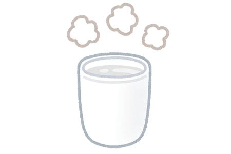 1週間前から毎日やること①白湯を飲む